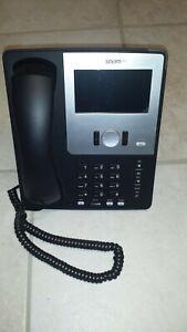 Snom 870 / schwarz / VoIP / Touch Farb-TFT / mit Netzteil