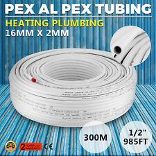 PEX-AL-PEX pipe Underfloor heating pipe 16mm x 2mm 300m rolls, WRAS approved.