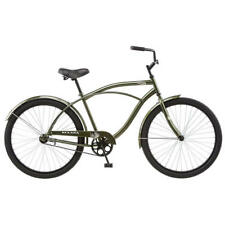 Kulana Extra Large Easy Cruiser Frame 26 in Men's Hiku Bike Steel Bicycle Green