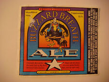 BEER LABEL >^< BIG ROCK Brewery Buzzard Breath Ale ~<>~ Calgary, Alberta, CANADA