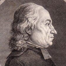 Portrait XVIIIe Chabault Michel Curé Chaussée Saint Victor Etats Généraux 1789