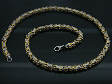 HIGH QUALITY MEN'S WOMEN'S STAINLESS STEEL CHUNKY LINK CHAIN NECKLACE