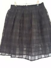 Face brand ladies black dressy skirt (asian XXXL) but suit size 10 see below