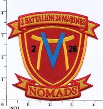 USMC 2nd Battalion/26th Marines NOMADS 2/26 Vietnam Veteran PATCH 2d Bn/26th Mar