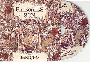 PREACHERS SON Jericho 2014 UK 1-trk promo test CD radio edit