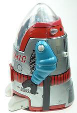 Silver Mr Atomic Cragstan Osaka Tin Toys Japanese TIn Toys New Condition in Box