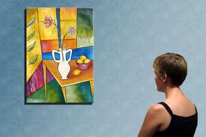 """39""""-STILL LIFE___________ORIGINAL painting by RALUCA !!"""