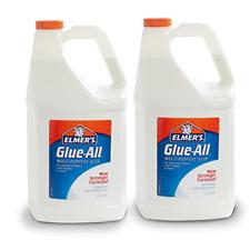 Elmer's Glue-All Multi-Purpose Liquid Glue, Extra Strong, 1 Gallon, 2 Count