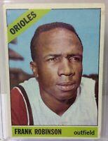 1966 Topps #310 FRANK ROBINSON - Baltimore ORIOLES - Vintage Baseball Card