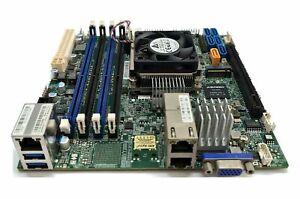 Supermicro X10SDV-4C-TLN2F Xeon D-1520 PCIe x16 10Gbe m.2 IPMI ITX DDR4 Server