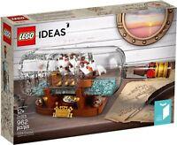 LEGO Ideas 21313 - Nave In Bottiglia NUOVO RARO