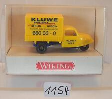 Wiking 1/87 Nr. 841 01 24 Goliath Goli-Dreirad Kluwe Baustoffe OVP #1154