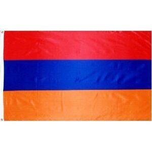 Armenia 3x5 Armenian FLAG - 3ft x 5ft 3' x 5' NEW