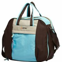 Mummy Maternity Baby Nappy Changing Overnight Weekend Bag - Blue
