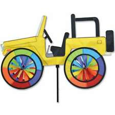 """Yellow Jeep Wind Spinner 22"""""""