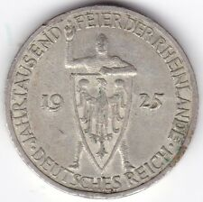 More details for 1925 g germany weimar republic 3 mark | pennies2pounds