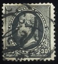 U.S. Scott # 228 used, F-VF with 1 jumbo and 3 ample margins