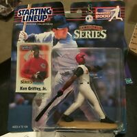 F45 2000 KEN GRIFFEY JR REDS EXT SERIES Starting Line Up NIB FREE SHIPPING