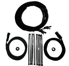 Universal Plug and Play Motorcycle Saddlebag Speaker Wiring Kit. Harley Davidson