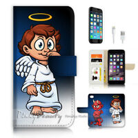 ( For iPhone 8 Plus / iPhone 8+ ) Case Cover P3390 Angel Evil