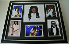 Nile Rodgers SIGNED FRAMED Photo Autograph Huge display Chic Le Freak Music COA