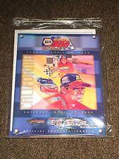 California Speedway April 2000 NAPA Auto Parts 500 Souvenir Program Jeff Gordon