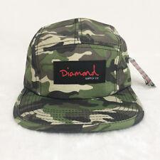 Diamond Supply Co. 5 panel cap Camo Baseball Cap Men cap summer dad hat unisex