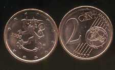 FINLANDE   2 cents  2000  SPL  neuve  ( sortie du rouleau )