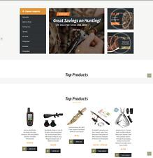 Established Profitable CAMPING & HUNTING Gear Turn-Key Website For Sale