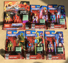 Lot of 7 NEW Masters of the Universe MEGA Construx Skeletor Adam Stratos He-Man