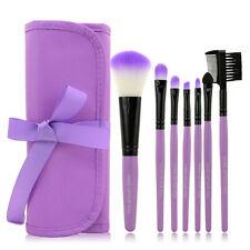 1 Set/7 PCS Wood Makeup Brush Makeup Cosmetic Tools Beauty Foundation Brushes