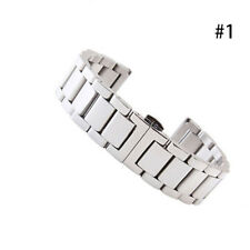 Stainless Steel Solid Links Watch Band Strap Bracelet Cool End 18/20/22/24MM Lot