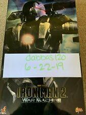 Brand NEW Hot Toys Iron Man 2 War Machine MMS120 1/6 (Don Cheadle)