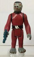 Star Wars Vintage Kenner Red Snaggletooth 1978 with Original Weapon HK VGC