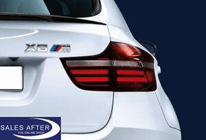 Original BMW X6 E71 BLACKLINE Rückleuchten Heckleuchten LCI LED - M Performance