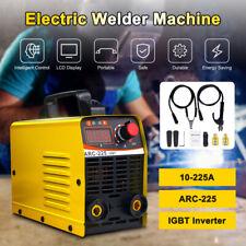 110v 225a Mini Electric Welding Machine Igbt Dc Inverter Arc Mma Stick Welder Us