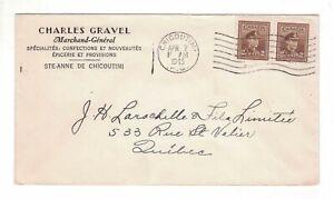 1943-04-07, #250, CHARLES GRAVEL, GENERAL-MERCHANT, STE-ANNE DE CHICOUTIMI