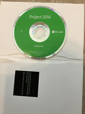 Microsoft Project Professional 2016 - DVD with KEY