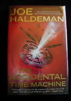Joe Haldeman - THE ACCIDENTAL TIME MACHINE - hardcover (later