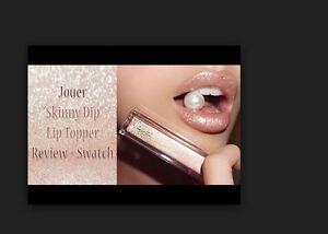 Jouer Cosmetics Long-Wear Lip TOPPER, metallic SKINNY DIP