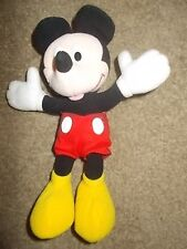 Applause Disney Mickey Mouse Plush Doll Mickey Mouse