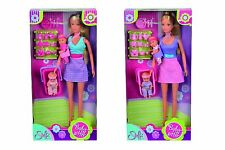 Steffi Love Baby Sitter with 2 x Baby Dolls and  Accessories NEW