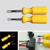 2xCar Terminal Removal Tool Kit Connector Pin Release Puller For Audi Volkswagen