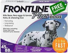 New listing Frontline Plus Flea & Tick Spot Treatment for Large Dogs, 45-88 lbs- 6 Doses