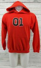 Dukes Of Hazzard Men's Orange Sweatshirt Hoodie Size Medium