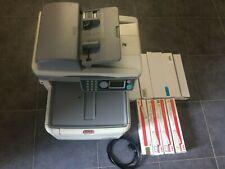 OKI MC 350 Color LED Drucker Kopierer Farbkopierer inkl. 8 Stück Druckerpatronen