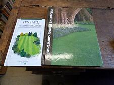 lot de 2 livres sur les pelouses ,  plantes couvre sol , graminées et bambous