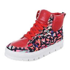 Damen-High-Top Sneaker mit Schnürsenkeln in Größe EUR 40