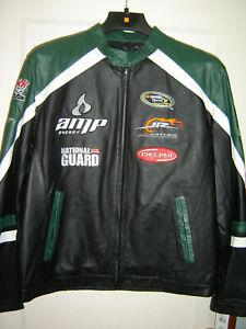 Wilson Leather Jacket Amp / N.Guard / Delphi / JR Nation #88 Earnhardt Jr. L NEW