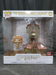 Town Funko Pop - The Burrow & Molly Weasley - Harry Potter - No. 16